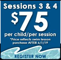 Session 3/4 - $75